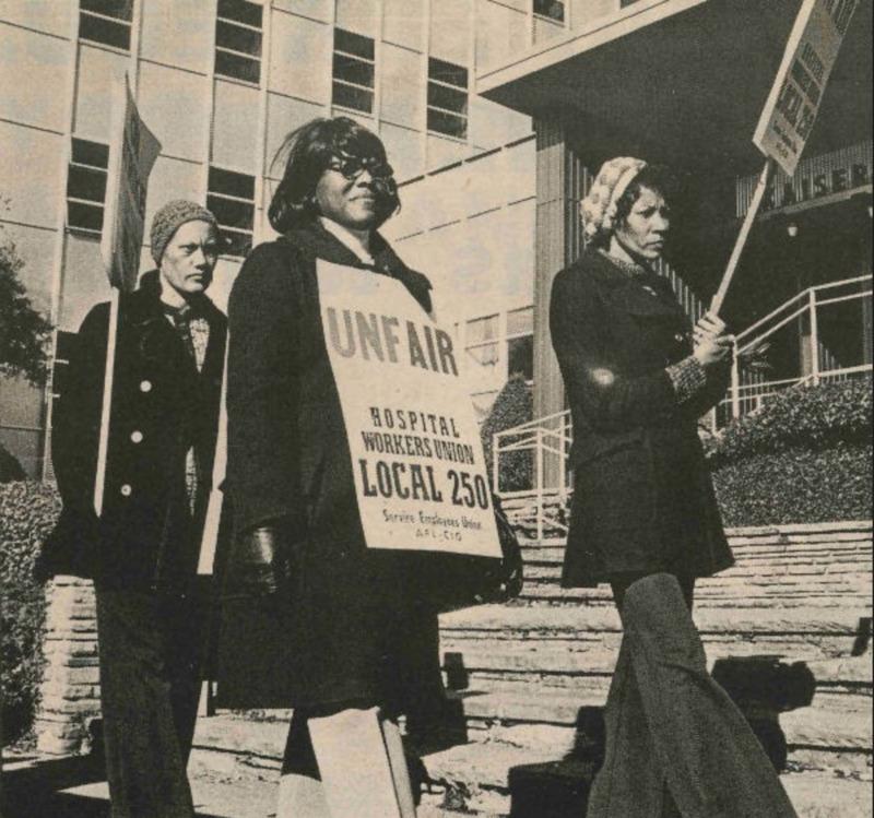 Union W.A.G.E. Kaiser Strike