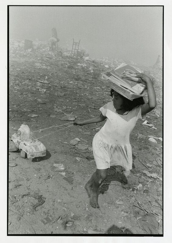 Girl Playing with Toy Found in Acapulco Dump, Mexico