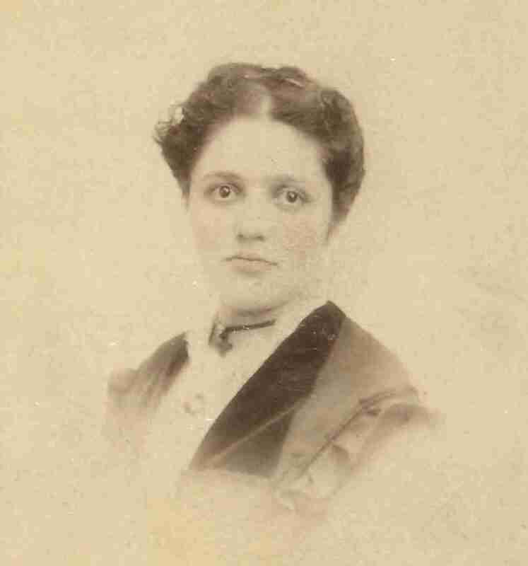 Helen Mar Ely (Mrs. H.M. Williamson); first woman to graduate from the University of Minnesota