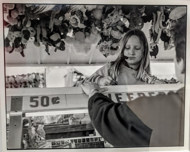 Girl Working at the Minnesota State Fair, St. Paul, MN